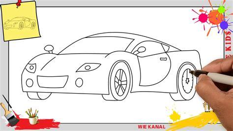 Auto Malen by Auto Zeichnen 2 Schritt F 252 R Schritt F 252 R Anf 228 Nger Kinder