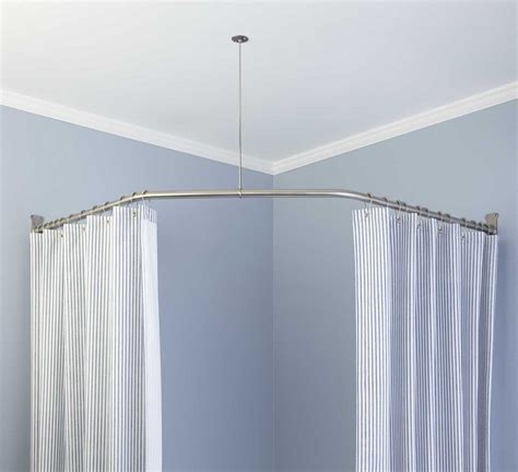 short curved shower curtain rod small curved shower curtain rods window curtains drapes