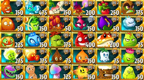 doodle free vs premium all premium plants in plants vs zombies 2 power up
