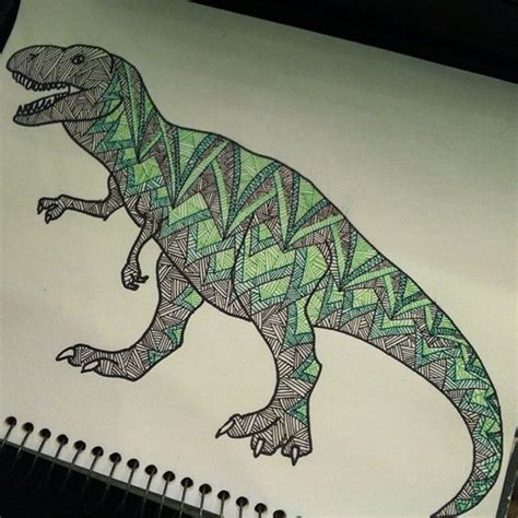 Doodles And Dinosaurs On