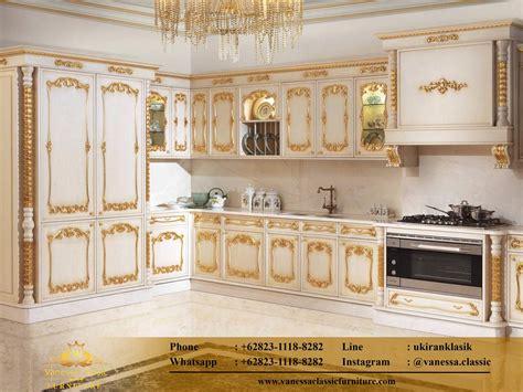 kitchen set mewah murah vanessa classic furniture
