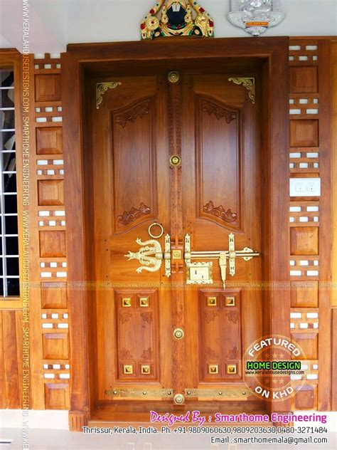 wooden front doorjpg  house front door design