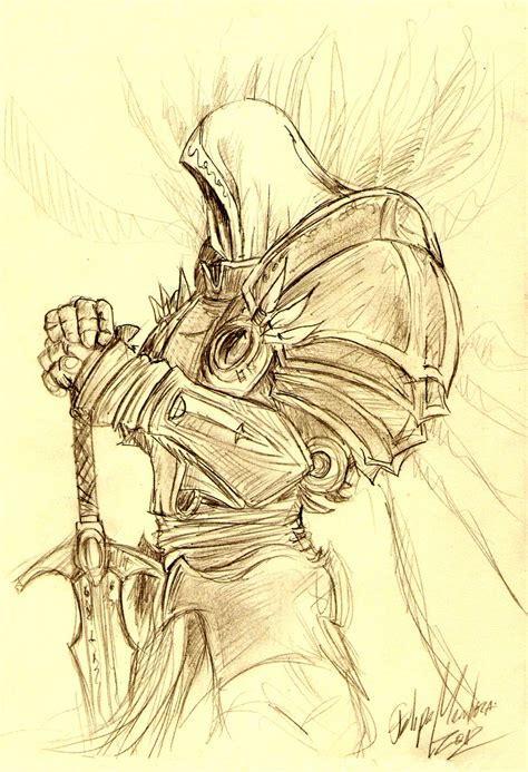 Diablo 3 Sketches by Tyrael Diablo Iii By Zarkwebic On Deviantart