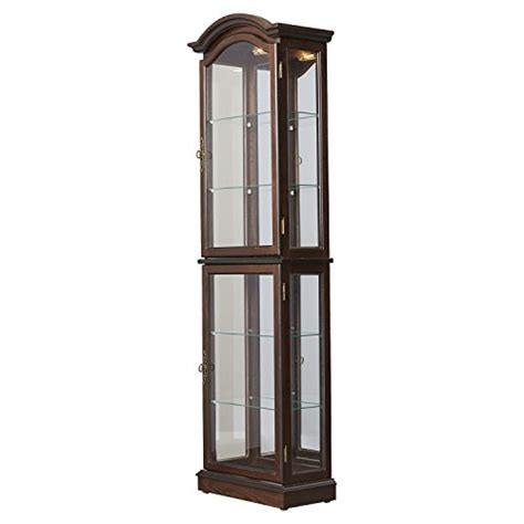 curio cabinet with light glass curio cabinet with lights glass curio cabinet with