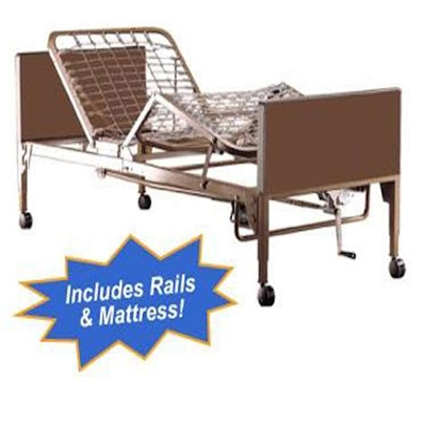 electric hospital bed full electric hospital bed package w mattress rails