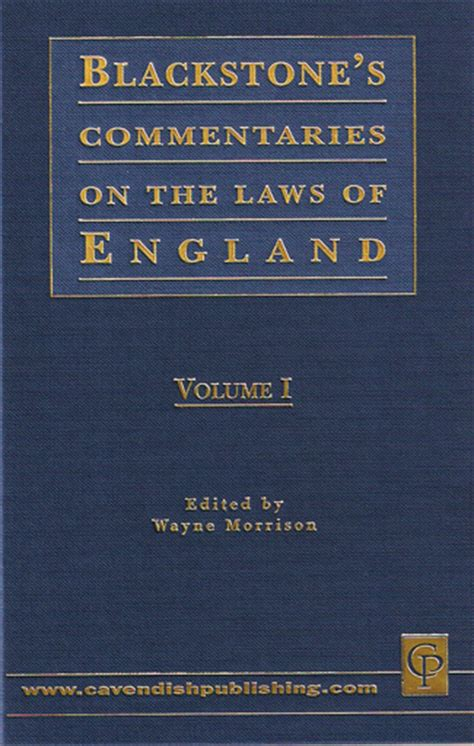commentaries on the laws of england in four books vol 2 wildy sons ltd the world s legal bookshop search