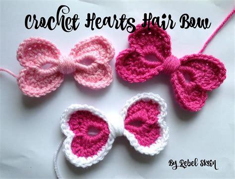 red heart little sweetie dress and headband free pattern rebel skein crochet hearts hair bow