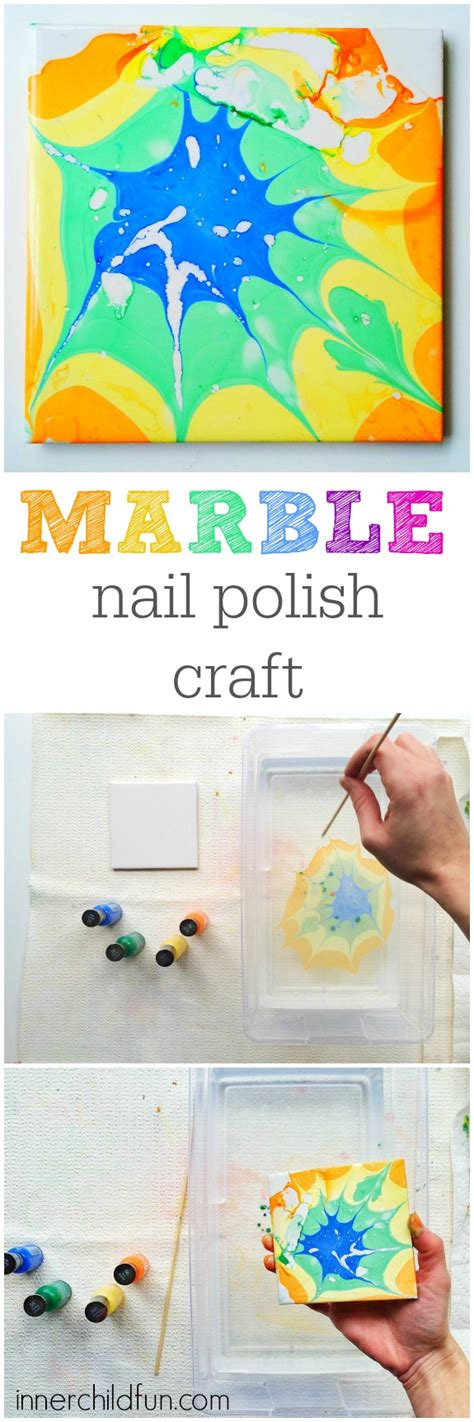 Which Inexpensive Can You Use For Water Marble Design - marble nail craft inner child