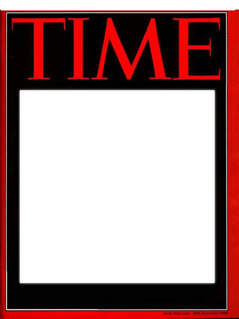 time magazine cover template 18 blank magazine cover design images make your own