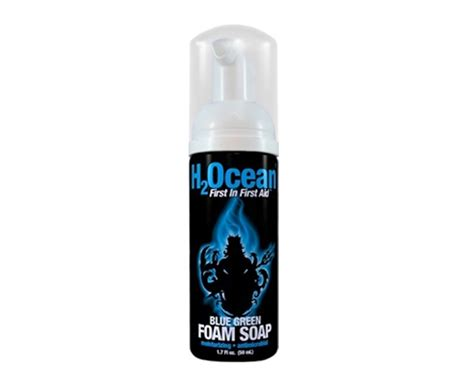 tattoo juice aftercare blue green foam soap h2ocean products tattoo