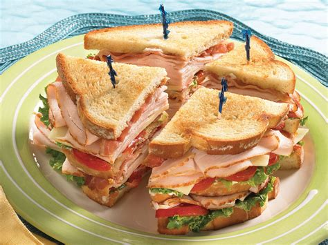 ham and turkey club sandwich recipe classic turkey club recipe boar s