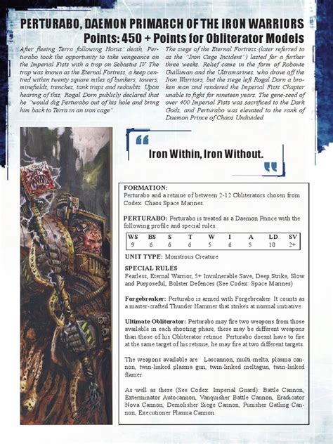 libro vengeance of the iron perturabo daemon primarch of the iron warriors pdf