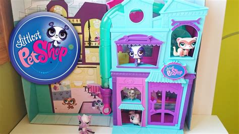 littlest pet shop house littlest pet shop house lps toys youtube