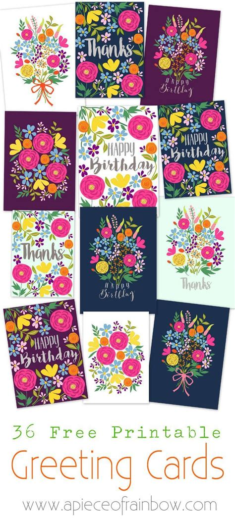 printable birthday cards for roommate the 25 best floral printables ideas on pinterest