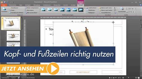 powerpoint tutorial free youtube powerpoint tutorial kopf und fu 223 zeilen richtig nutzen