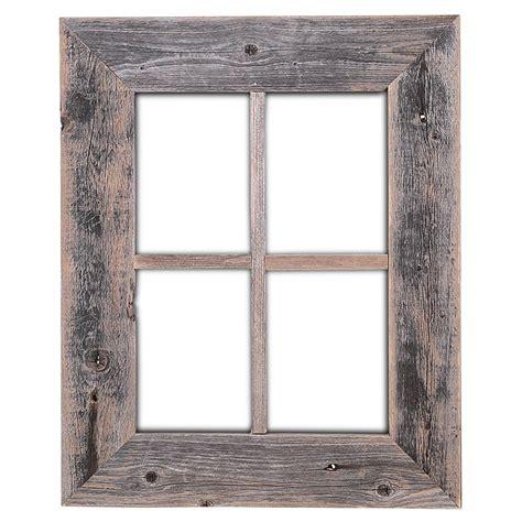 window framing amazon com old rustic window barnwood frames not for