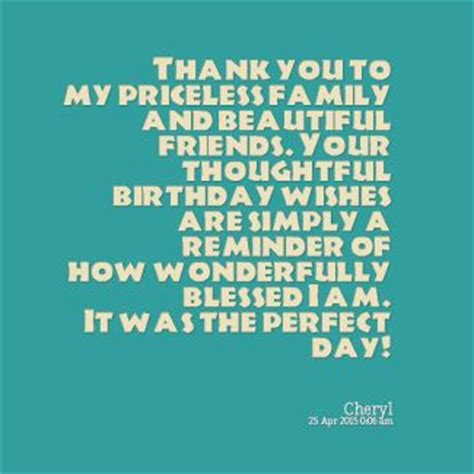 Thank You Birthday Quotes 25 Best Birthday Thank You Quotes On Pinterest 40
