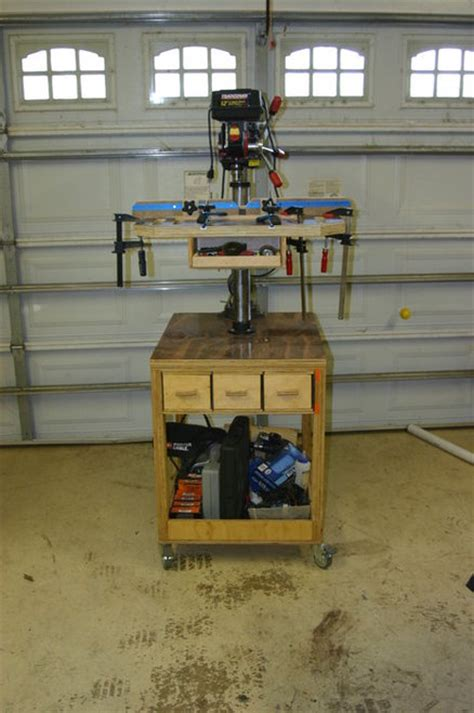 benchtop drill press table plans 187 woodworktips