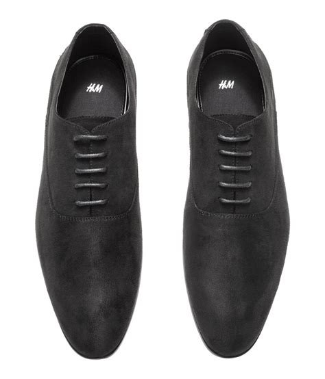 h m oxford shoes h m oxford shoes in black for lyst