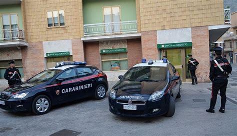Banca Dell Adriatico Venafro by Rapina A Mano Armata In Banca Tre Arresti Tra Molise E