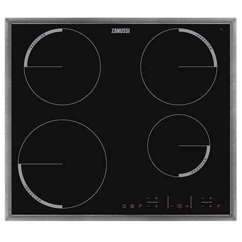 zanussi electric induction hobs quadro zei6640xba induction hob from zanussi electric hobs shopping housetohome co uk