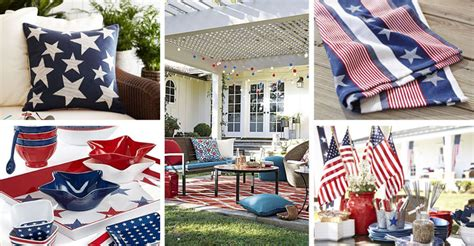 patriotic home decorations patriotic home decor under 50 american flag inspired