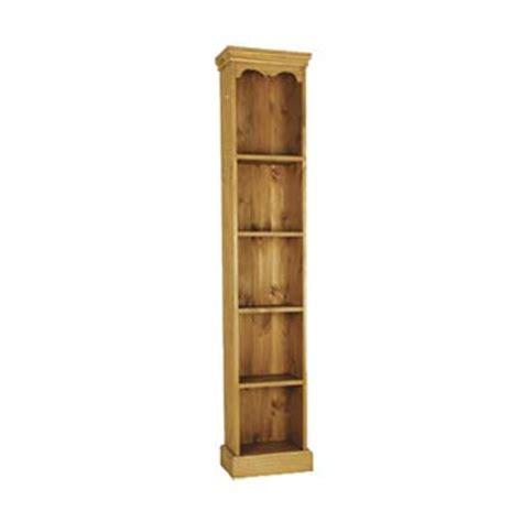 narrow pine bookcase furniture123 trafalgar pine narrow bookcase review