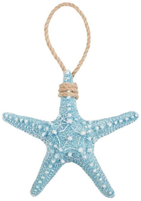 coastal decor brighten the season blue starfish christmas ornament beallsflorida culture scribe