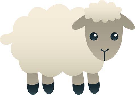 Free Clipart Sheep fluffy white sheep free clip