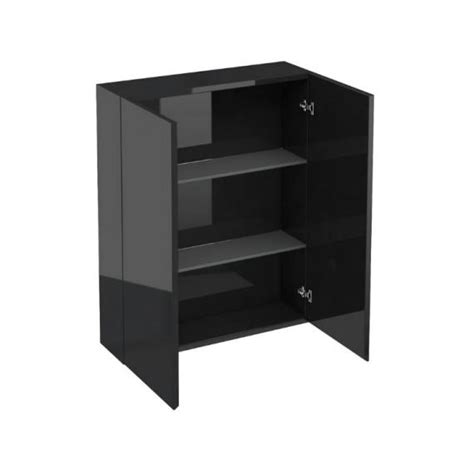 bathroom wall cabinet black aqua cabinets 600mm black gloss wall cabinet bathroom
