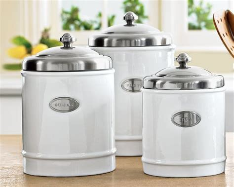 kitchen ceramic canisters william sonoma canisters