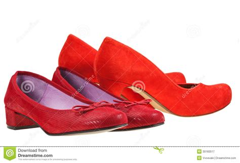 Two Pairs Of Shoes by Two Pairs Of S Shoes Royalty Free Stock