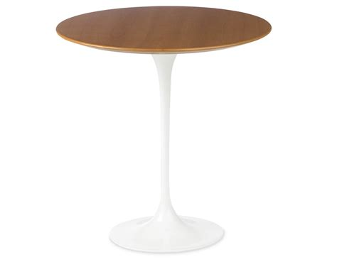 Saarinen Side Table Saarinen Side Table Wood Veneer Hivemodern