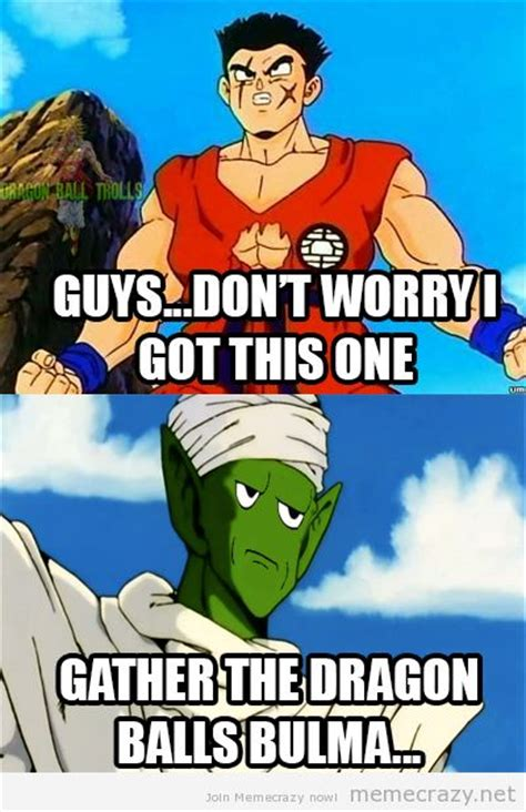 Dbz Funny Memes - 20 best yamcha lawl images on pinterest dragons dragon
