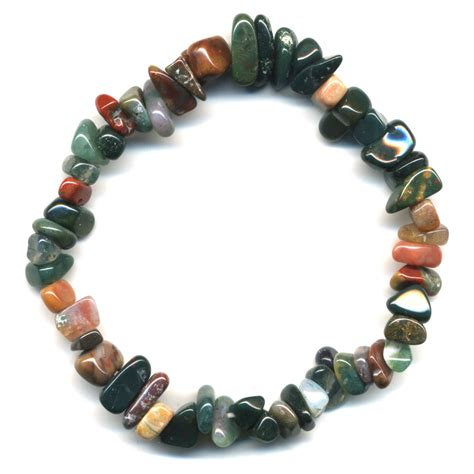 Agate Bracelet bracelet baroque agate multicolor agate bijoux