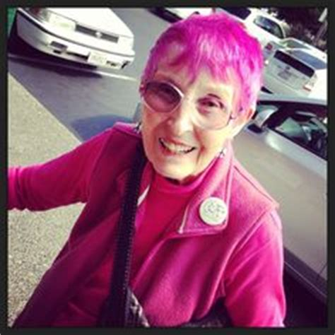 old woman pink hair 1000 images about dyed hair never too old for colors on