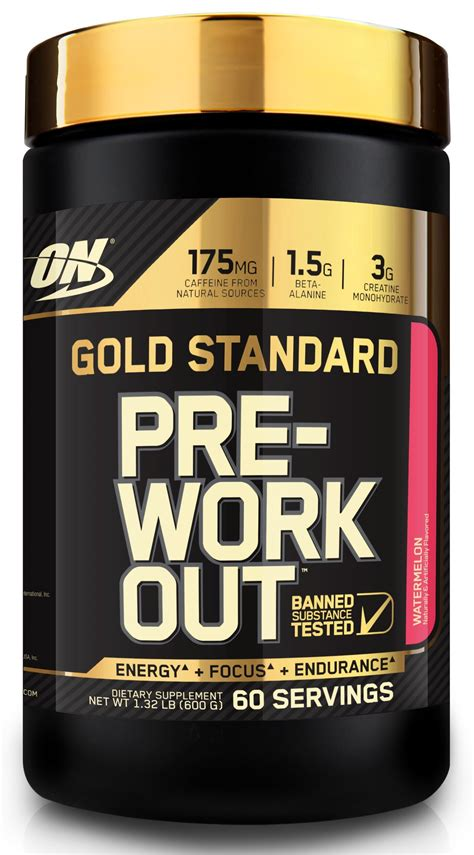 creatine gold standard optimum nutrition gold standard pre workout