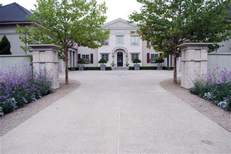 home design center granite drive driveway medallions dirt simple
