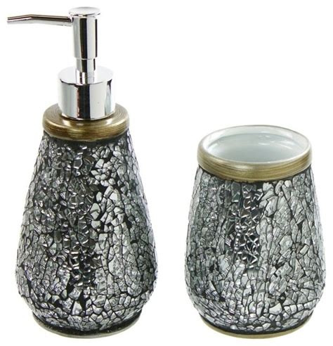 ceramic bathroom accessories sets 2 piece ceramic bathroom accessory set contemporary