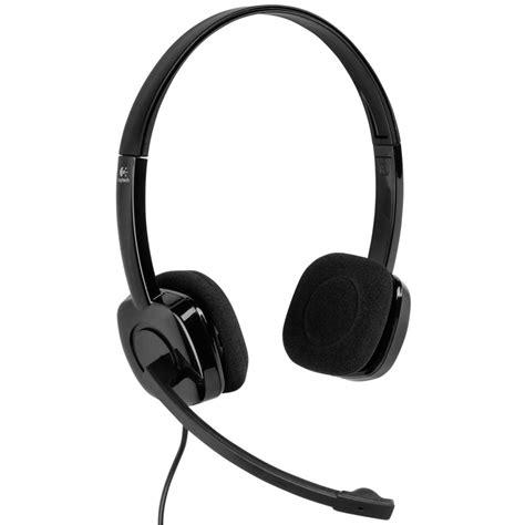 logitech h151 stereo headset verstellbare kopfb 252 gel mikrofon rauschunterdr 252 ckung eur 20 58