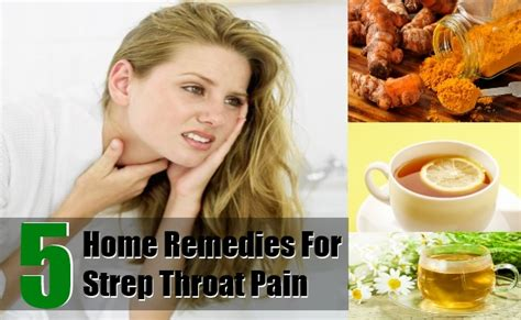 5 home remedies for strep throat treatments