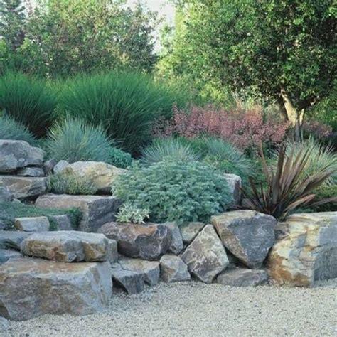 Garden And Lawn Natural Rock Garden Ideas Rock Garden Rock Garden Herbs
