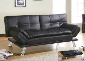 Leather Futon Sofa The Kinds Of Futon Sofa Sleeper Which Available In The
