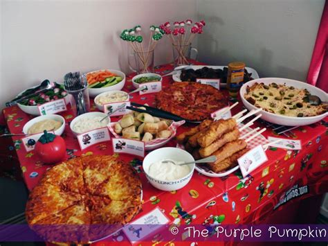 party themes with food nintendo themed birthday party the purple pumpkin blog