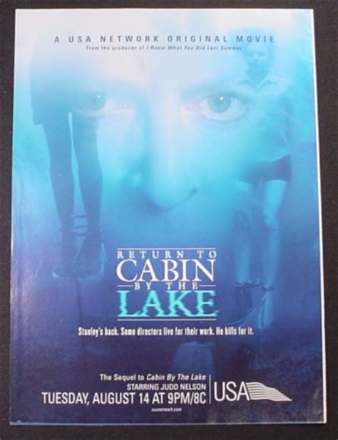 return to cabin by the lake 2001 tv tv
