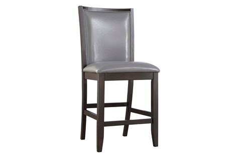upholstery bar stools trish gray upholstered bar stool at gardner white