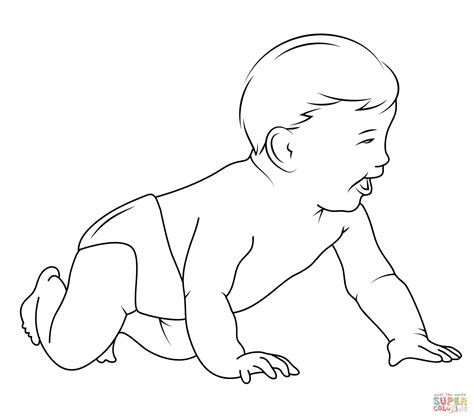 baby coloring pages baby coloring page free printable coloring pages
