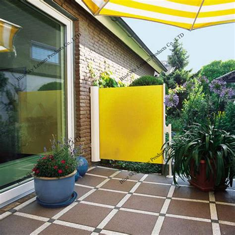 retractable side awning outdoor retractable side wall awning for balcony awning
