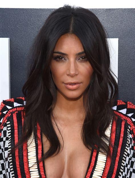 long bob hairstyles kim kardashian 15 celebrities long curls for early fall pretty designs