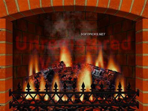 3d realistic fireplace screen saver 3 9 7